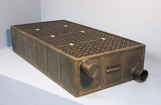 Modular drainage system - Skeletank