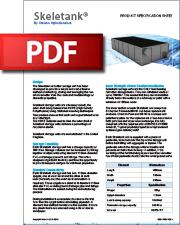 SELH01001 Skeletank Data Sheet (PDF)