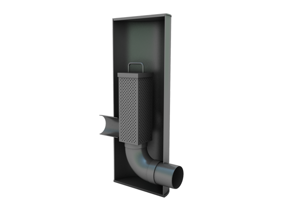 SELH 03001 Skeletank Mini Flow Control Chamber